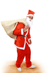 Santa is coming - with sack full of goodies