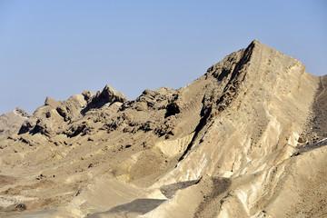Ramon crater edge, Negev desert.
