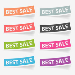 Vector stickers best sale. Design elements.