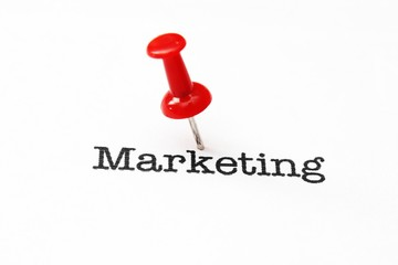 Push pin on marketing