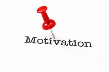 Push pin on motivation