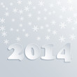 Abstract Winter 2014 Vector Background