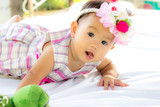 Baby Cute Baby Girl Portrait