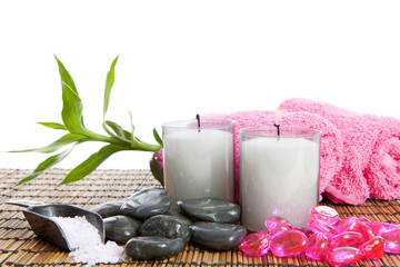 spa accessories for yoga or sauna