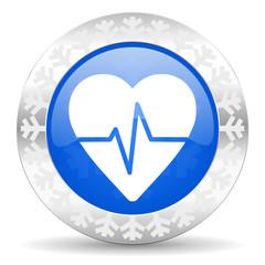 pulse christmas icon