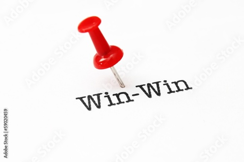 Push pin on win-win
