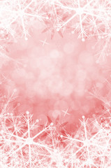 winter christmas background with snowflake.