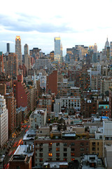 View of New York City skyline