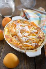 Apricot clafoutis
