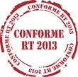 tampon conforme rt 2013