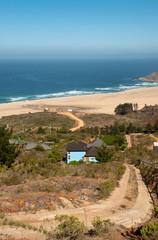 cile - spiaggia di tunquen