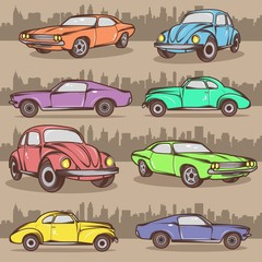 Cartoon Car Collection