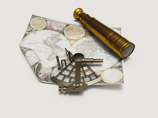 extant and telescope of map