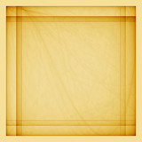 Vintage background. Yellow textured square with backlight