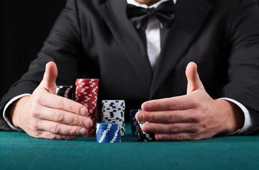 Gambler wins all the money