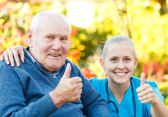Thumbs up for nursing homes