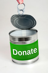 Donate word
