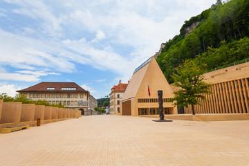 Main street in Liechtenstein
