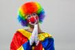 Praying clown