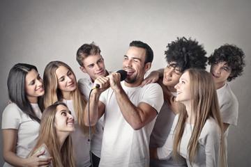 Singing Friends