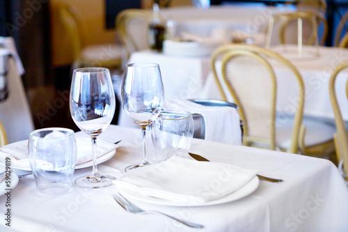Buffet, Bar a restaurant