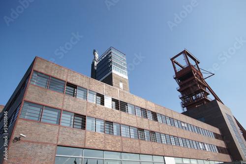 canvas print picture Ruhrgebiet Kunst Parklandschaft Ruhr  Industrie Museum