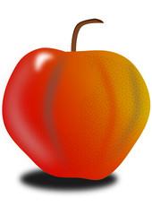 Una mela??