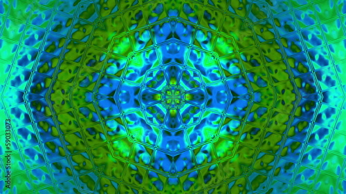 kaleidoscope colorful looped background