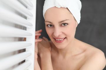portrait duschen