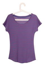 female striped tee-shirt