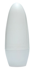 White Deodorant Container. close up of beauty hygiene container