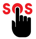 Press SOS button icon