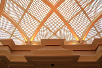 Architecture of modern and elegant roof design