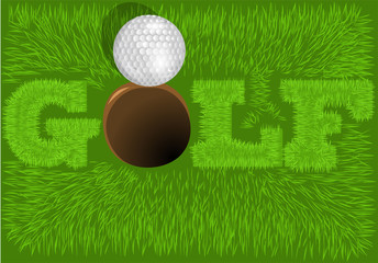 inscription golf