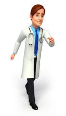 Doctor is running