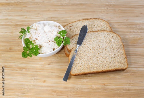 Making Tuna Fish Sandwich