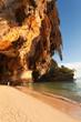 falaise, grottes et plage de Phra Nang, Taïlande