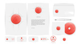 Corporate Identity Templates in Vector illustration