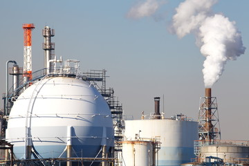 Oil and gas industry - refinery