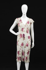 mannequin sundress in female clothes