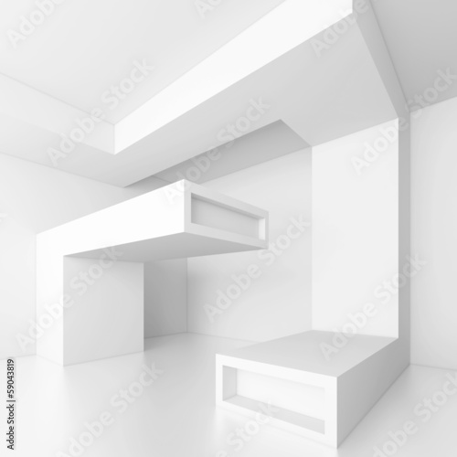 White Architecture Background - 59043819