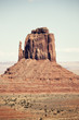 Monument Valley rock formation