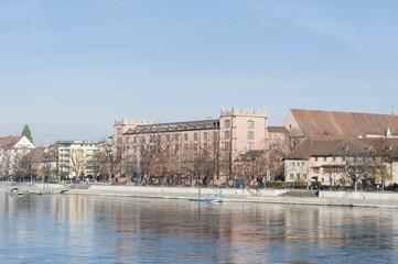 Basel, Altstadt, Kleinbasel, Rheinufer, Kaserne, Schweiz