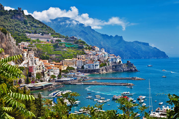 stunning Amalfi coast of Italy