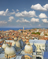 Roofs of Venice, Italy - UNESCO World Heritage Site