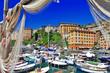 colorful Camogli, Ligurian coast of Italy