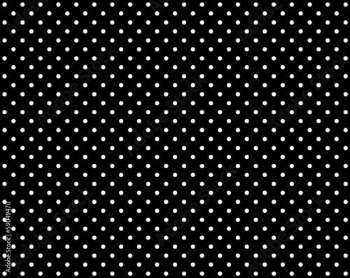 canvas print picture Schwarzer Hintergrund mit weißen Punkten