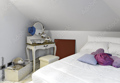 dettaglio della camera da letto dei ragazzi