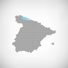 Spanien Provinz Asturien