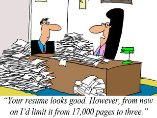 Limit resume to 3 pages, not 17,000 pages